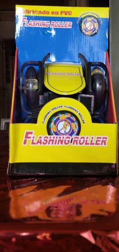 Patines Para Zapatos De Niños Flashing Roller