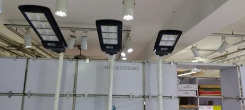 Lámpara Led Alumbrado Público Con Panel Solar 120w, 90w,