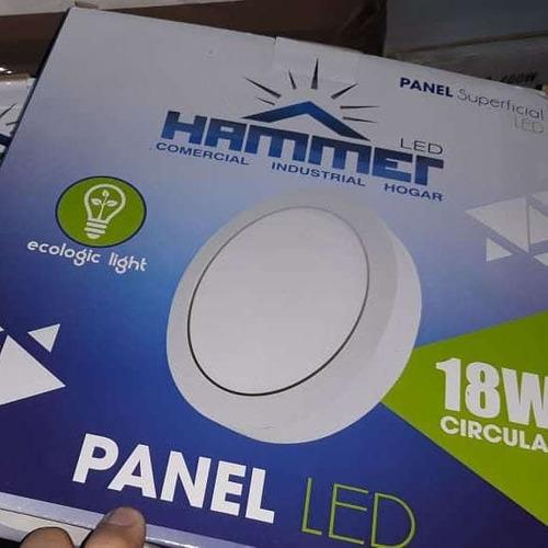 Panel Led Circulares Y Cuadradas Hammer Y Superlite w