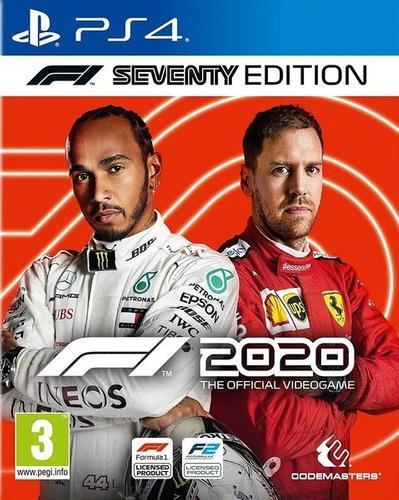 Fórmula 1 2020 Ps4 Físico Nuevo Sellado