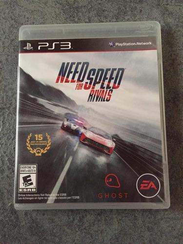 Need For Speed Rivals Para Ps3, En Fisico