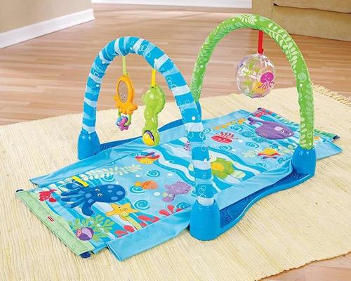 Gimnasio Gym Túnel Fisher Price Para Bebé