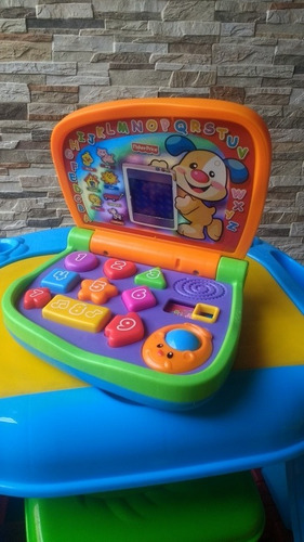 Primera Computadora Didáctica De Bebés Fisher Price