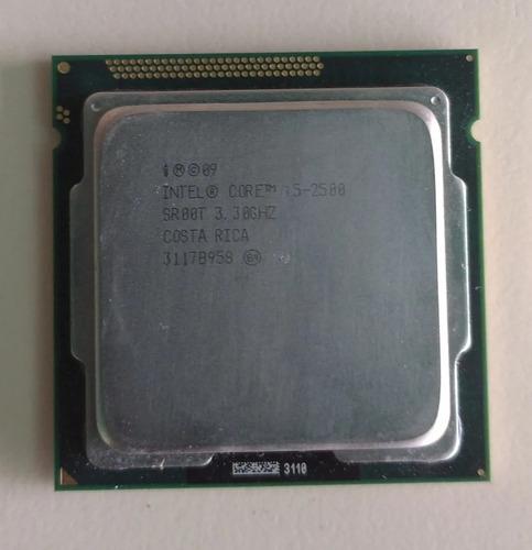 Procesador Intel Core I Con Fan Cooler, Usado