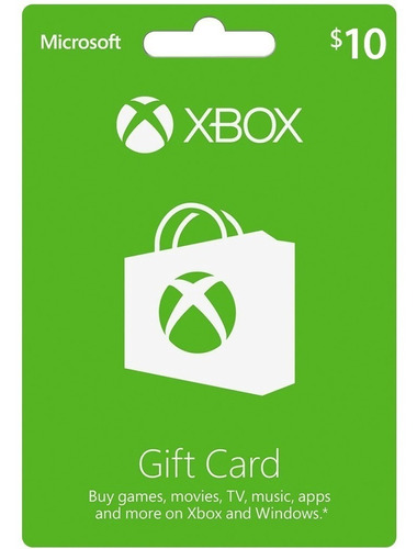 Tarjetas De Regalo De Xbox Microsoft Entrega En Minutos