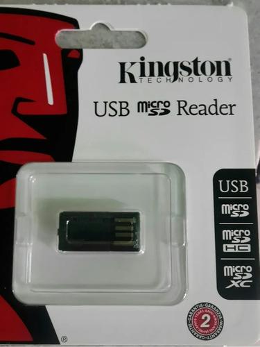 Adaptador De Lector De Memoria Kinsgton De Micro Sd A Usb