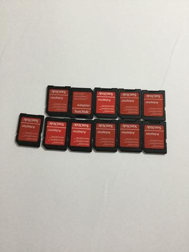 Adaptador De Micro Sd A Sd Sandisk 5 Unidades