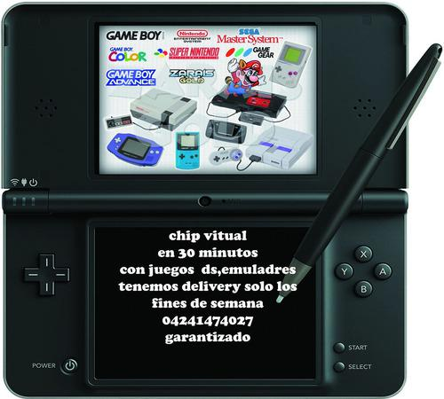 Chip Virtual 3ds 3dsxl 2ds New + 5 Juegos