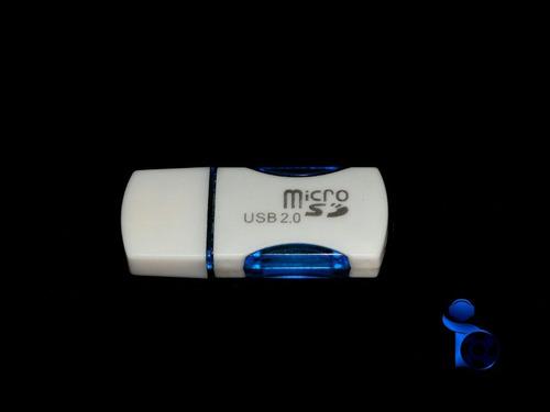 Lector De Memoria Micro Sd Tipo Pendrive Varios Colores