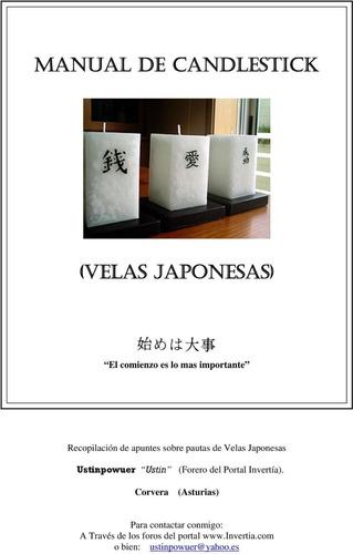 Manual De Candlestick (velas Japonesas)
