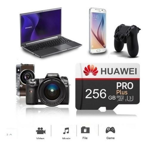 Memoria 256gb Micro Sd Clase 10 Huawei Pro Original