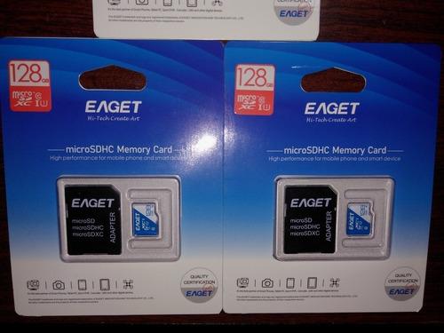 Memoria Eaget Micro Sd Hc 128gb Alta Velocidad Uhs-i Flash