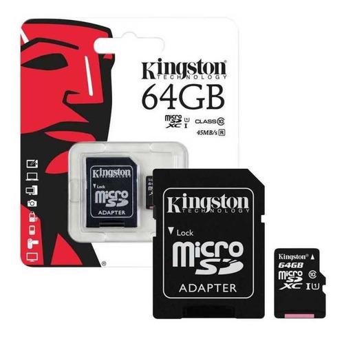 Memoria Kingston 64gb Micro Sd Tiend Chacao