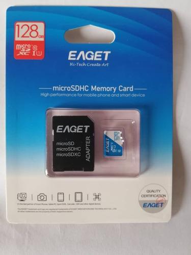 Memoria Micro Sd 128gb Clase 10, Adaptador, Tienda Fisica