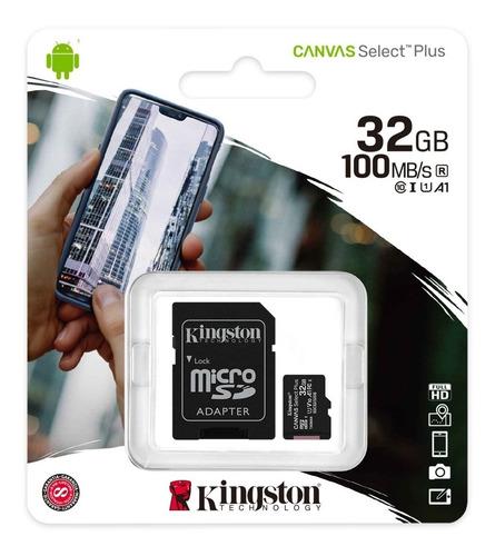 Memoria Micro Sd 32 Gb Kingston Original
