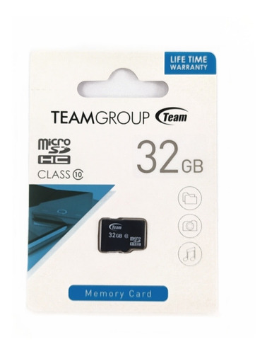 Memoria Micro Sd Hc 32gb Team Group Clase 10