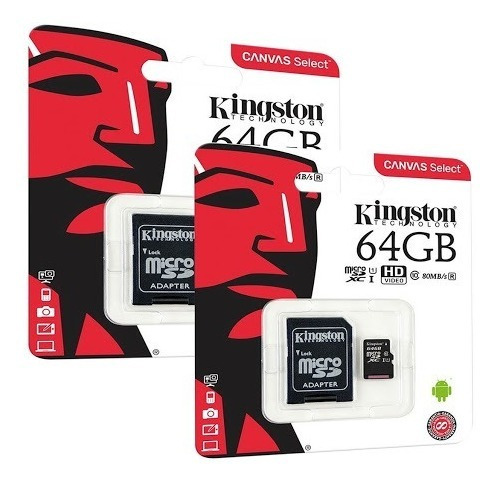 Memoria Micro Sd Hc Kingston Original De 64 Gb Mtech