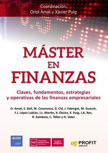 Máster En Finanzas - Editorial Profit Profit Editorial