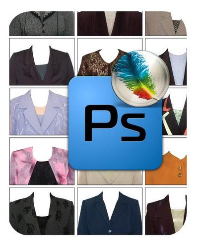 Plantillas Photoshop 54 Trajes De Mujeres Editable Psd