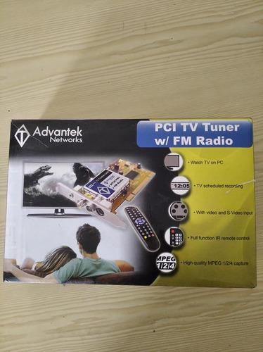 Tarjeta 3 En 1 Advantek Tv Turner Video, Radio