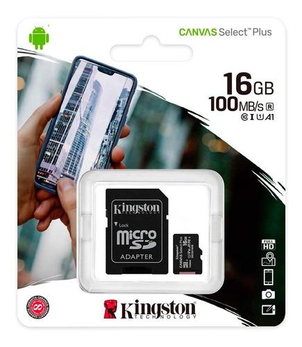 Tarjeta De Memoria Micro Sd 16 Gb