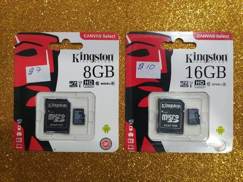 Tarjeta De Memoria Micro Sd 64gb. Kingston