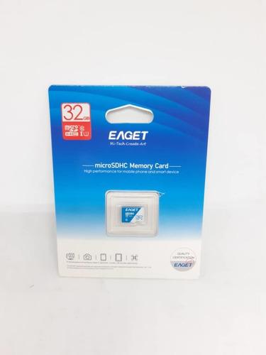 Tarjeta De Memoria Microsdhc 32 Gb Eaget Somos Tienda