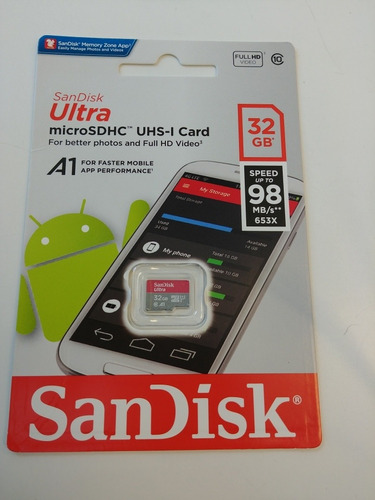 Tarjeta Micro Sd 32 Y 64 Gb
