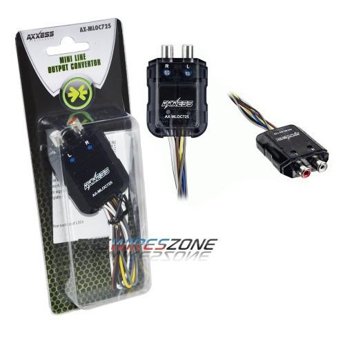 Btl Axxess Covertidor De Salida Audio A Rca / Para 150 Watts