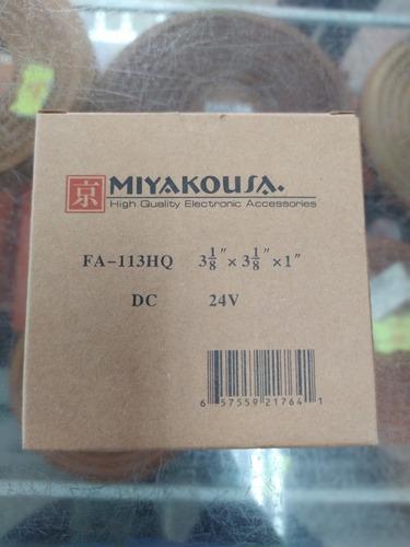 Extractor De Aire Ventilador 24v 3¿ Americano Miyako Usa