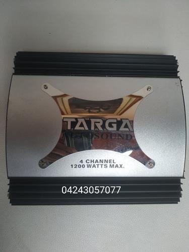 Planta Amplificadora Targa  Watts 4 Canales Nueva
