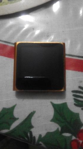 iPod Nano 6 Ta Gen 8gb Con Cable De Carga Para Reparar