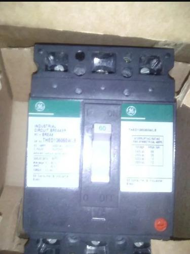 Breaker Trifásico 30 Amp 60 Amp 70 100 Amp General Electric