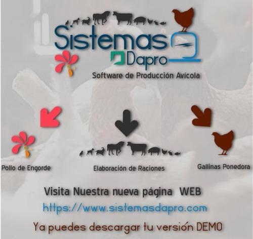 Software P/elaborar Raciones De Alimento P/animales. 28$