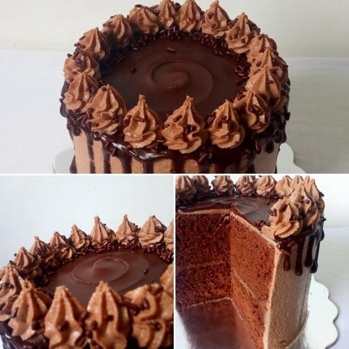 Torta De Chocolate Y Avellana