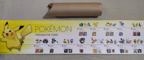 Afiche De Coleccion Historia De Pokemon