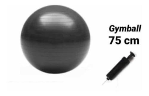 Bola De Gimnasia - Gym Ball 75cm Con Bomba Para Inflar