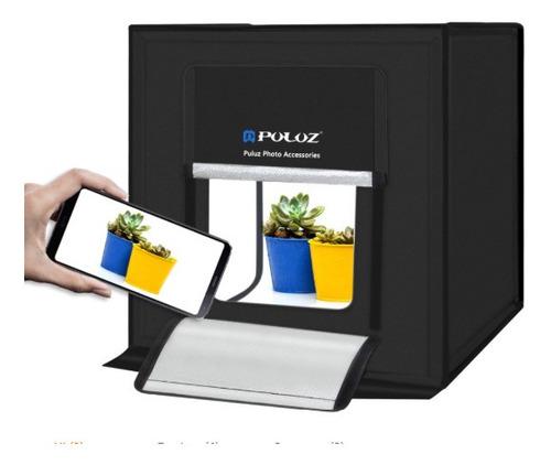 Caja De Luz Para Fotografías Puluz 40cm