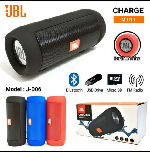 Corneta Inalámbrica Jbl Charge2 Bluetooth Wireless