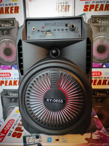 Corneta Portatil Bluetoot Speacker Radio Pendrive Tarjeta Sd