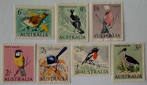 Australia. Serie: Pájaros. Año:  Y .