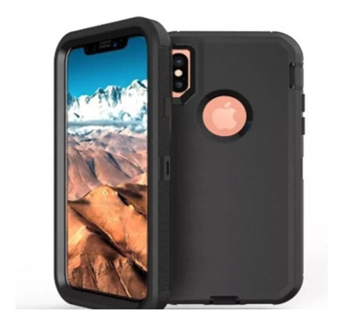 Forro Protector Tipo Otter iPhone X Xs Xr iPhone XS Max