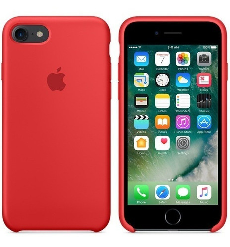 Forro Silicone Case iPhone 6, 6s, 7 Y 8