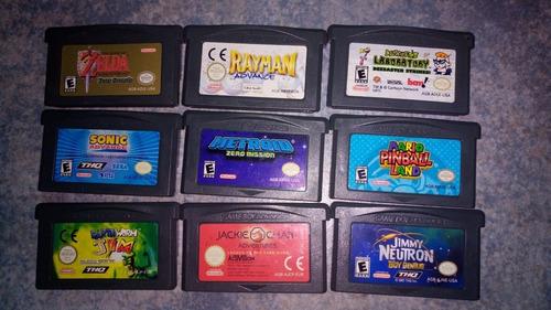 Juegos De Gameboy Advance Original.Funcionan En Nintendo Ds