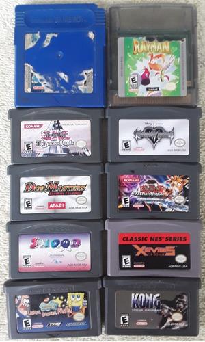 Juegos De Nintendo Gameboy Sólo Venta Somos Tienda Física