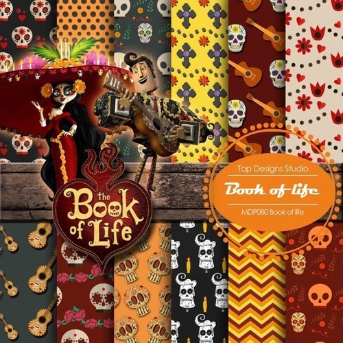 Kit Imprimible Pack Fondos Book Of Life Libro De La Vida 22