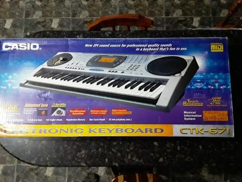 Teclado Piano Casio Ctk 671