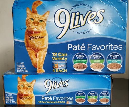 Alimento Húmedo Para Gatos 9 Lives