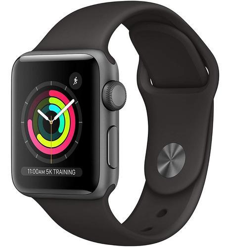 Apple Watch Series 3 38 Mm Space Gray Gps Somos Tienda