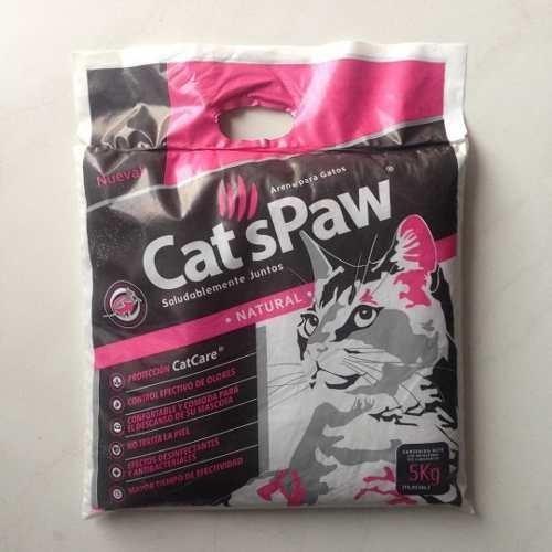 Arena Para Gatos Cats Paw 5kg